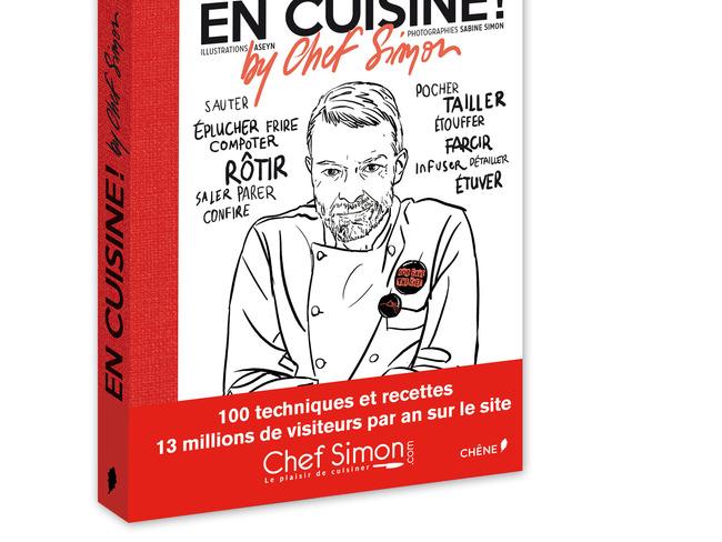 « Gagnez un livre du Chef Simon »