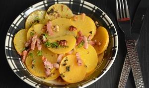 Salade de navets boule d'Or