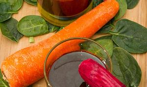 Jus de légumes à l'extracteur de jus