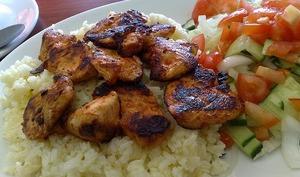 Brochettes de poulet saveurs citron et coriandre