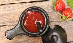 Ketchup épicé aux fraises