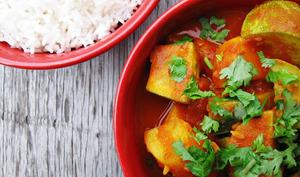 Curry de pommes de terre et courgettes simplissime