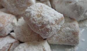 """Vanille Kipferl"" ou biscuits à la vanille"
