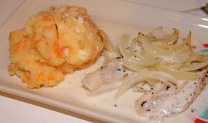 Filets de poisson au four