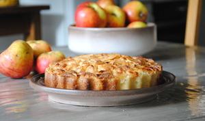 Gâteau-tarte aux pommes