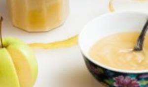 Compote maison pomme cannelle