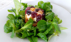 Brillat Savarin aux raisins secs et au miel