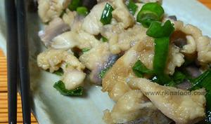 Salade de mulet