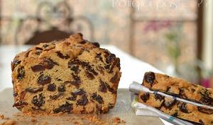 Cake canneberges / raisins / rhum / vanille
