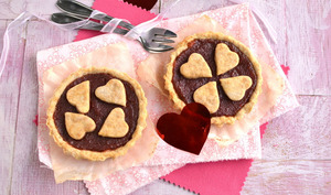 Tartelettes des amoureux poire-betterave
