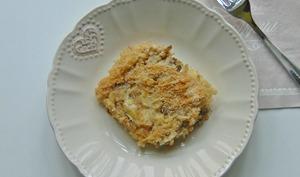 Gratin de risotto aux artichauts