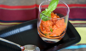 Granité tomate poivron