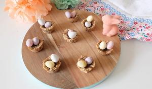 Des petits nids de Pâques ultra simples et ultra mignons