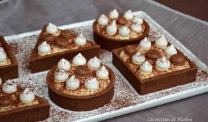 Tartelettes chocolat façon tiramisu