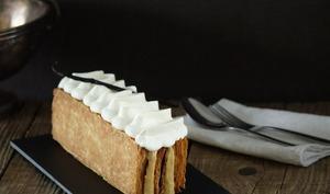 Mille-feuille vanille et caramel