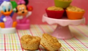 Mini muffin pour bébé à la compote de fruits