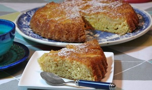 Gâteau au yaourt et pommes