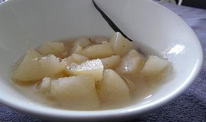 Fruits au sirop