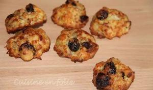 Cookies au roquefort, à la noix, et aux craneberries – Cuisine en Folie