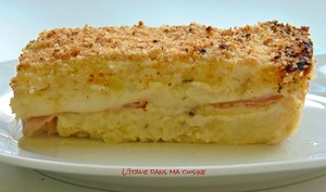 Gâteau de pommes de terre à la napolitaine