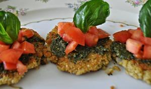 Croquettes de quinoa et courgettes