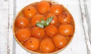 La tarte aux abricots et gingembre confit de Philippe Conticini