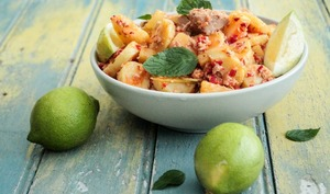 Salade de thon et pommes de terre