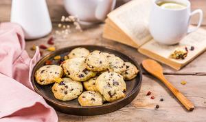 Cookies au cranberries et chocolat