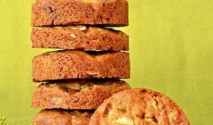 Biscuits citron confit, noisette, fenouil