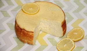 Gâteau au fromage blanc et au citron