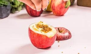 Pommes au four spéculoos et caramel beurre salé