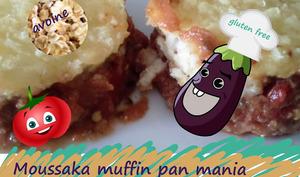 """Mini moussaka """"muffin pan mania"""""""