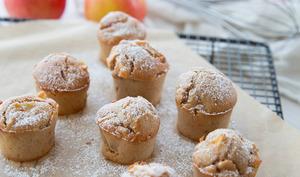 Muffins pomme cannelle au lait d'amande