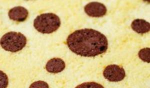 Roulé confiture chocolat et amandes