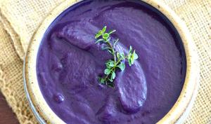 Soupe toute violette