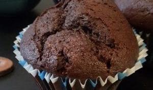 Muffins chocolat caraïbe et caramélia valrhona