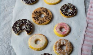 Donuts de pommes