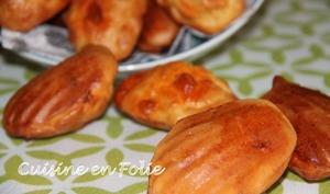 Madeleines au chorizo et à l'huile d'olive