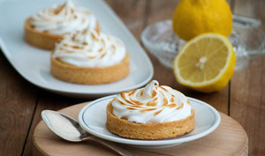 Tartelettes au citron meringuées