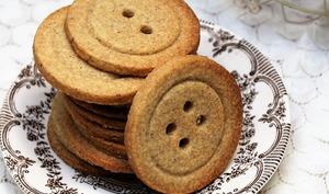 Biscuits-boutons sans emporte-pièce