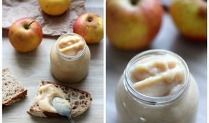 Beurre de pommes vegan
