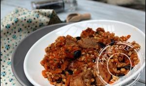 Filet mignon aux carottes, courgettes et patates douces