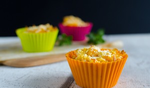 Mini Mac and cheese à la courge