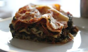 Lasagnes épinards tomates séchées