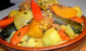Couscous d'agneau à la marocaine