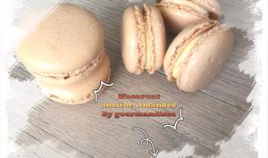 Macarons abricot/amande