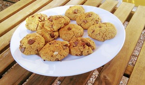 Cookies à la purée d'amandes