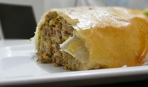 Pastilla de poulet au safran