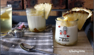 Blanc manger coco à l'ananas