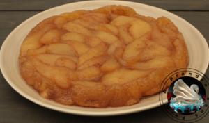 Tarte tatin aux poires et aux épices en vidéo